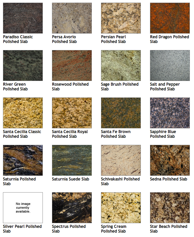 Pick Your Granite Color Indianapolis Countertops